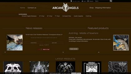 Arcaneangels Records